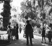 Vendedor de balões em São Paulo (1956)