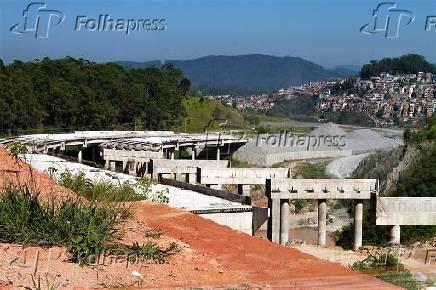 Trecho do Rodoanel Norte, em São Paulo