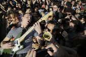 Lollapalooza 2017 - Apresentação da banda Cage The Elephant