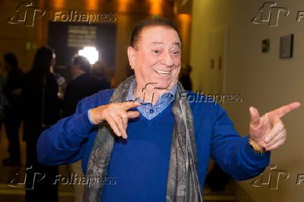 Raul Gil no sessão especial da peça