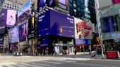 Ruas vazia em Nova York devido ao coronavírus