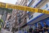 Prédios ilegais em área interditada da Muzema, no Rio de Janeiro