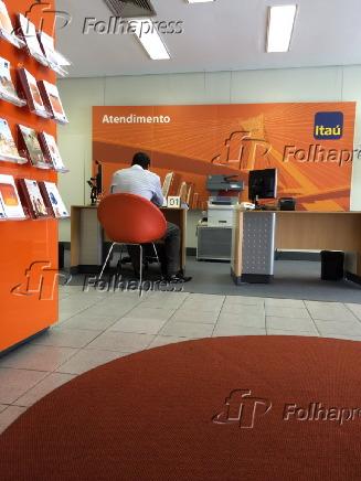 Agência bancária do Itaú, que adotou
