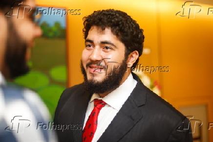 Vinicius Lima na entrega do Prêmio Santo Dias de Direitos Humanos