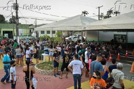 Vacinação contra a Covid-19 em Brasileia, AC