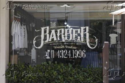 Fachada da loja The Barber