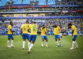 Partida entre Brasil e México