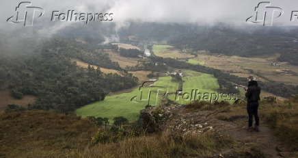 Vista do Morro do Campestre em Urubici (SC)