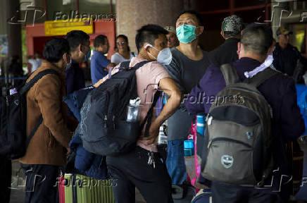 Movimentação no aeroporto internacional José Martí, em Cuba