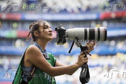 A fotógrafa peruana Pilar Olivares