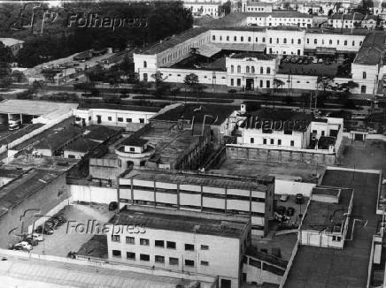 Vista do presídio de Tiradentes.