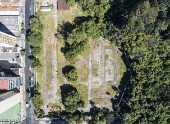 Vista aérea do parque Augusta